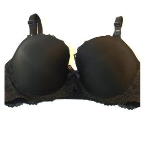 NWT Victoria's Secret black dream angels Demi 34DD